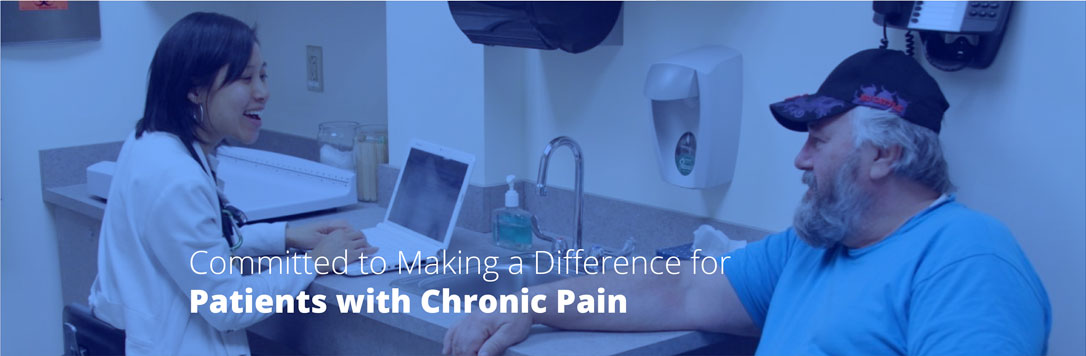 Committed to making a difference for patients with chronic pain